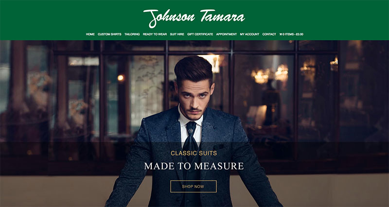 Johnson Tamara - Website design