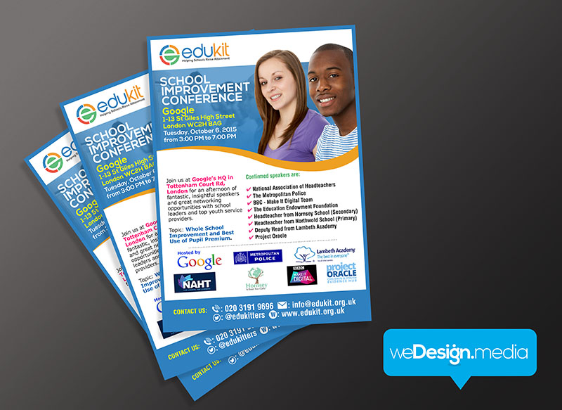 EDUKIT - Flyer/ leaflet design