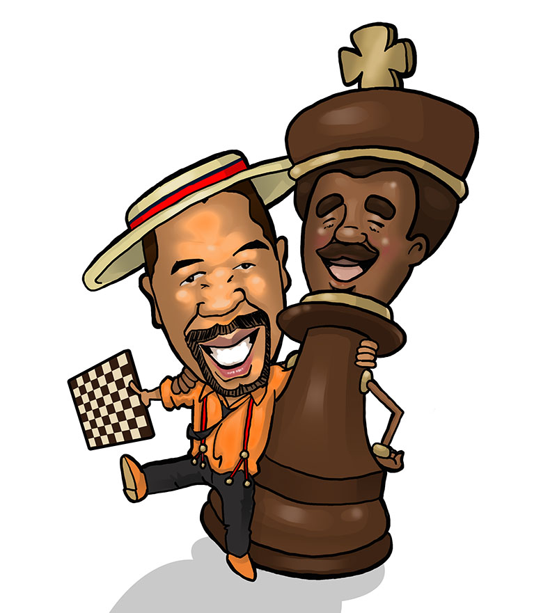 Illustration-Richard Weekes Chess Academy