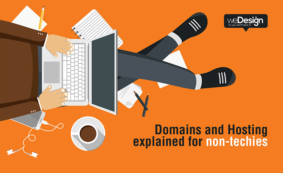 Domains and hosting explained for non-techies