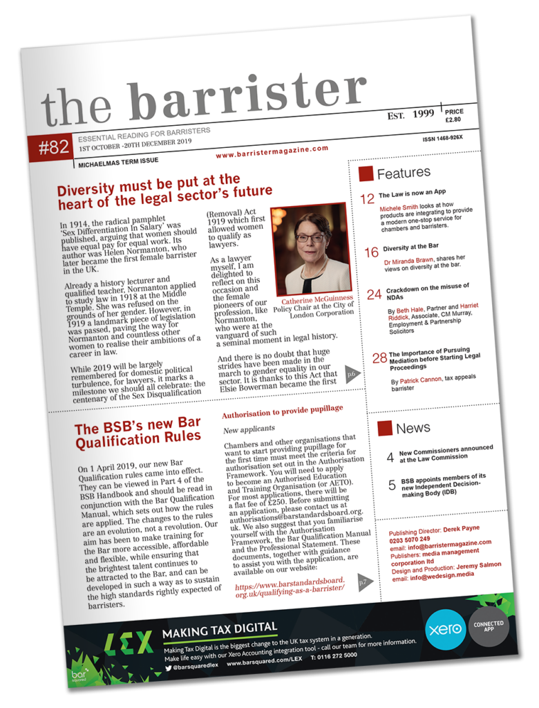 The Barrister Magazine