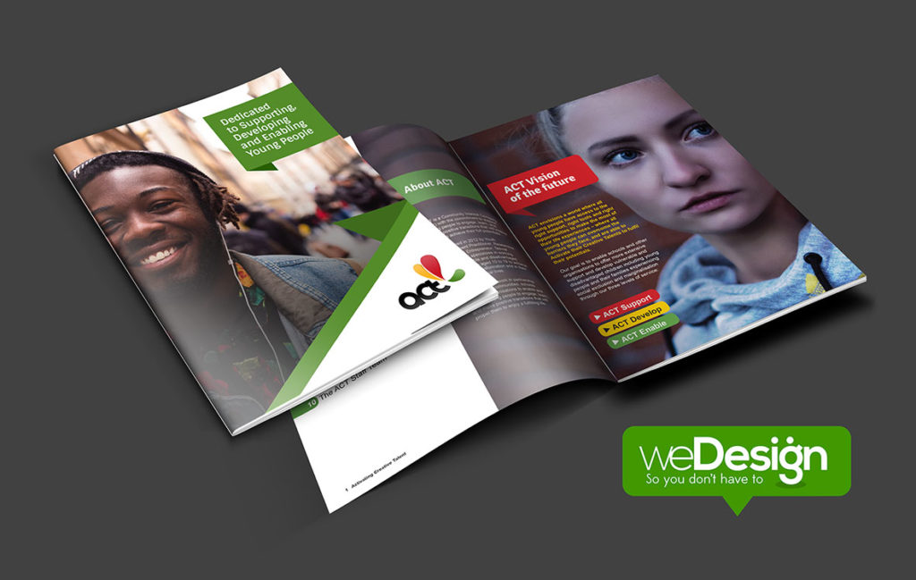 ACT Brochure Design