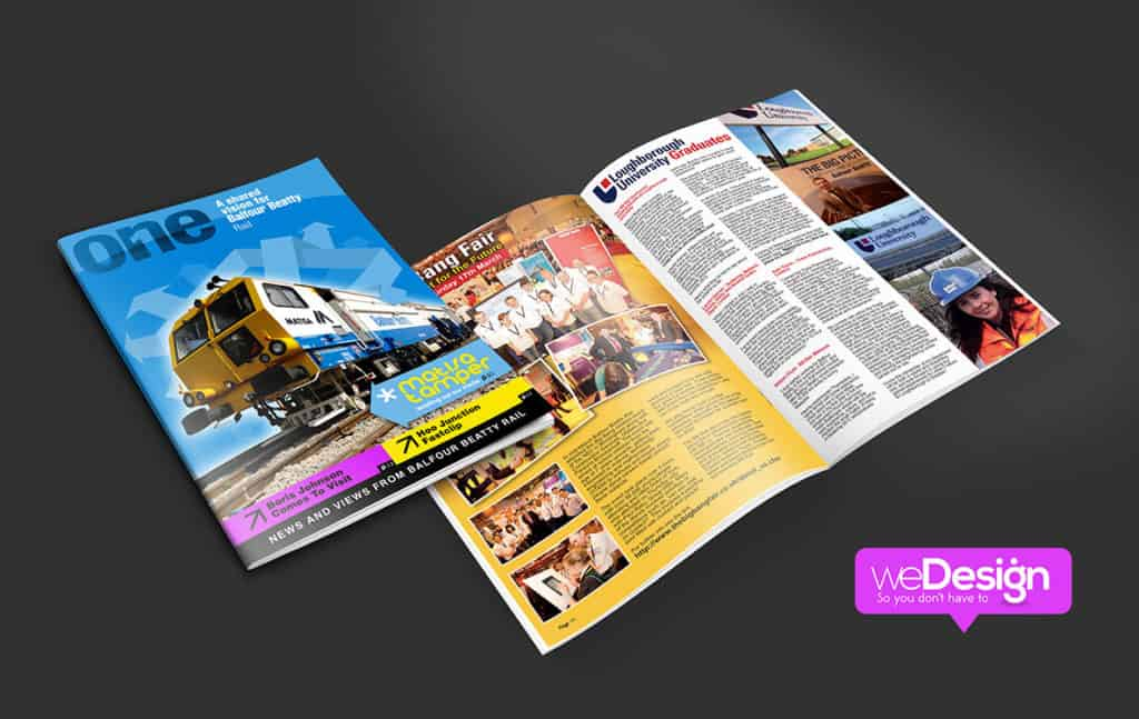 Balfour Beatty internal communications magazine
